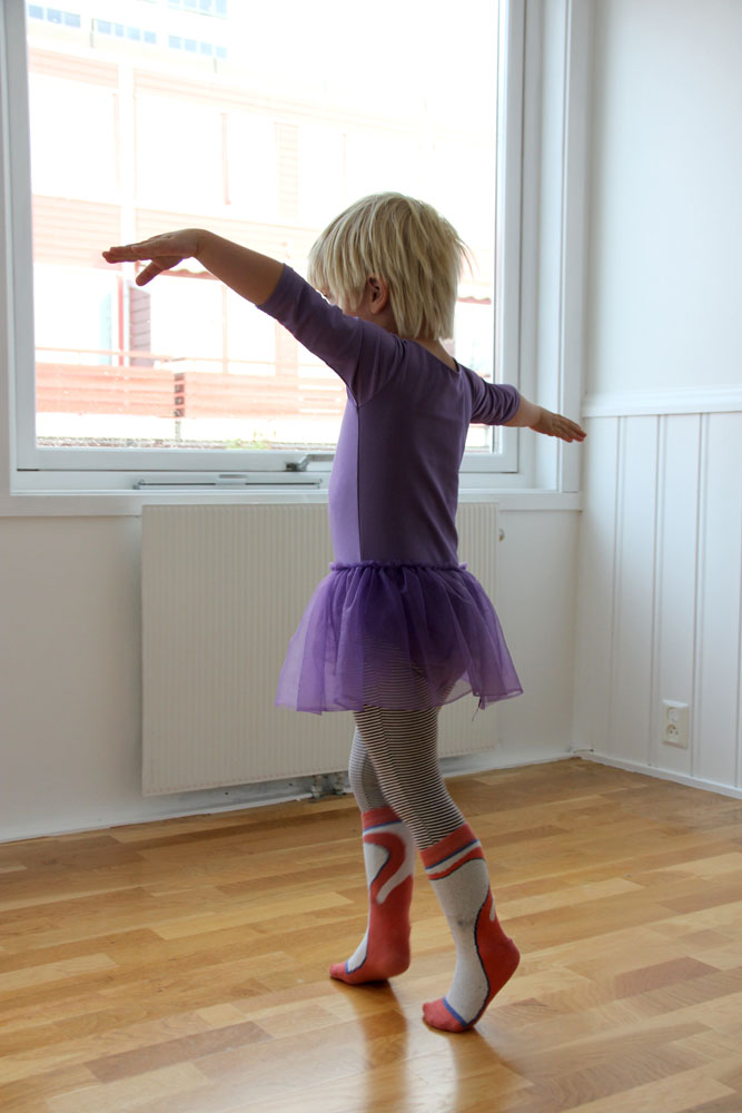 "She calls it ""billet"", though. May I also point out that she chose the socks herself."
