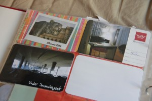 Instax picture and photos from my travels for work