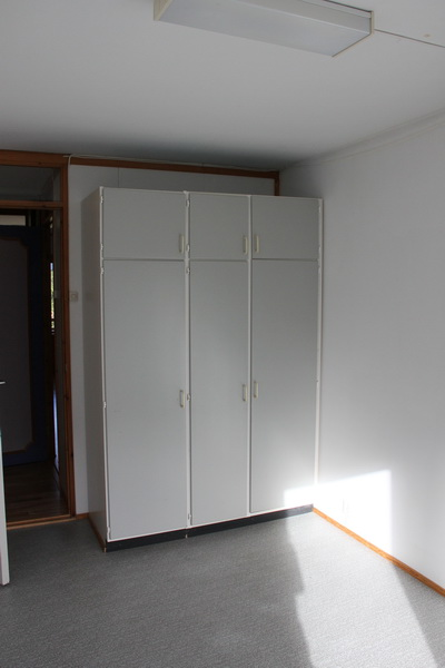 More wardrobes. Three of the four bedrooms have these old wardobes, and they're great, so that's good.