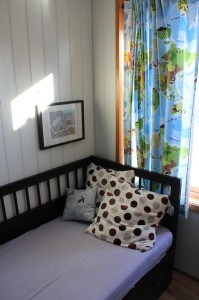 The reading nook before adding the last picture