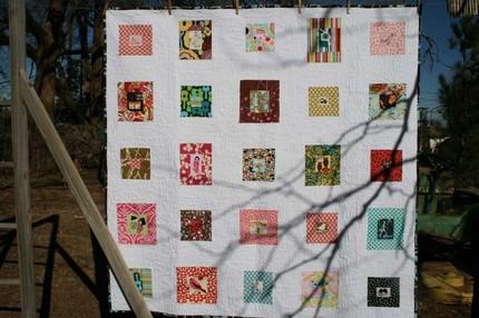 Handmade Fussy Cut quilt from sewsecret