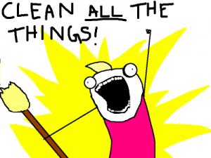 cleanallthethings